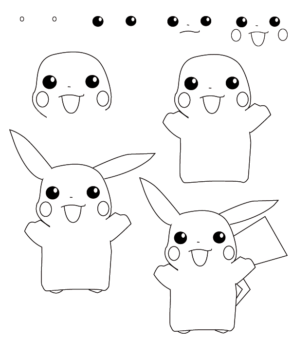 Dessin pokemon - Modele dessin pokemon ...