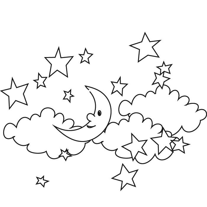 coloriage étoiles