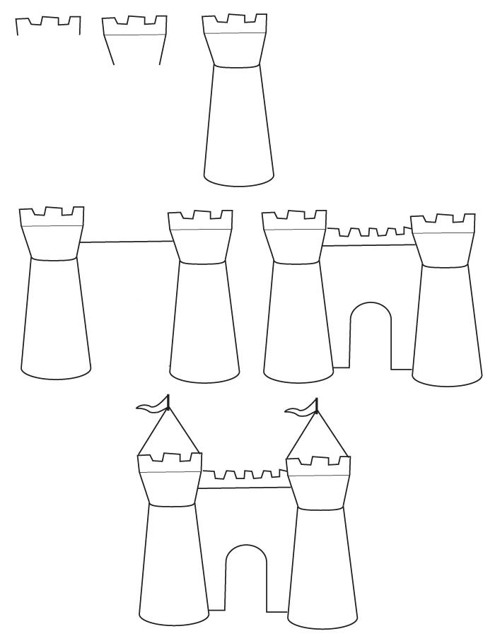 Dessin chateau - Chateaux dessin ...