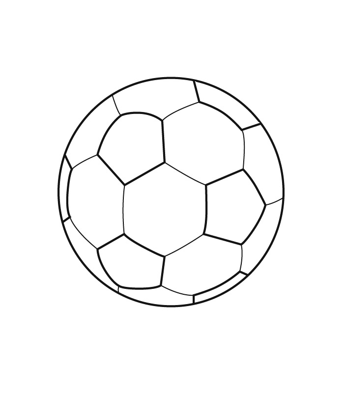 News and entertainment ballon foot jan 06 2013 08 14 00 - Coloriage ballon foot ...