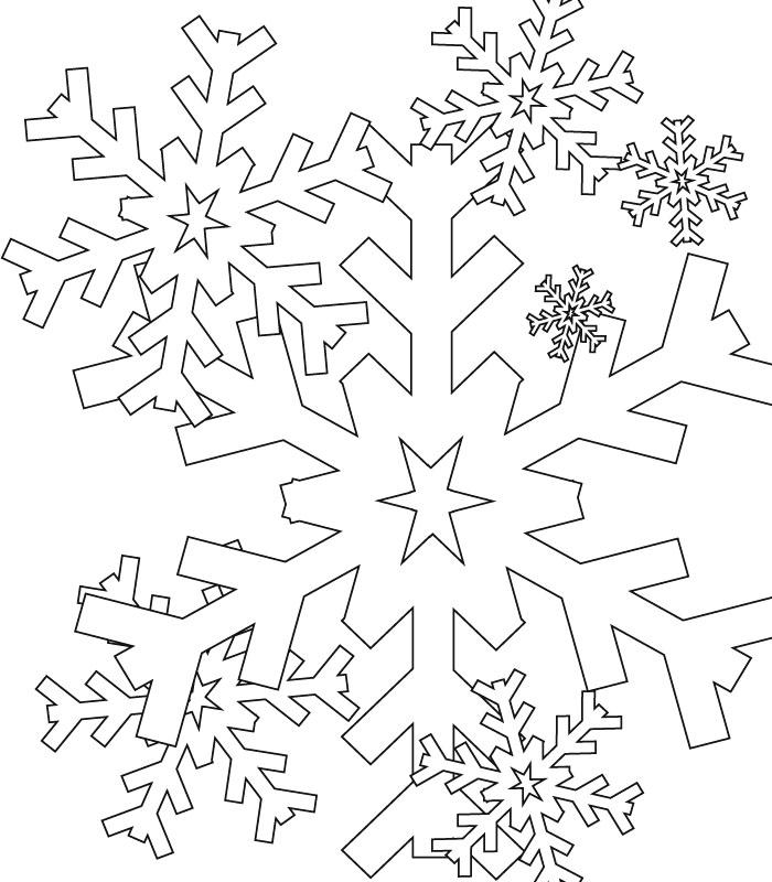 coloriage flocon-de-neige