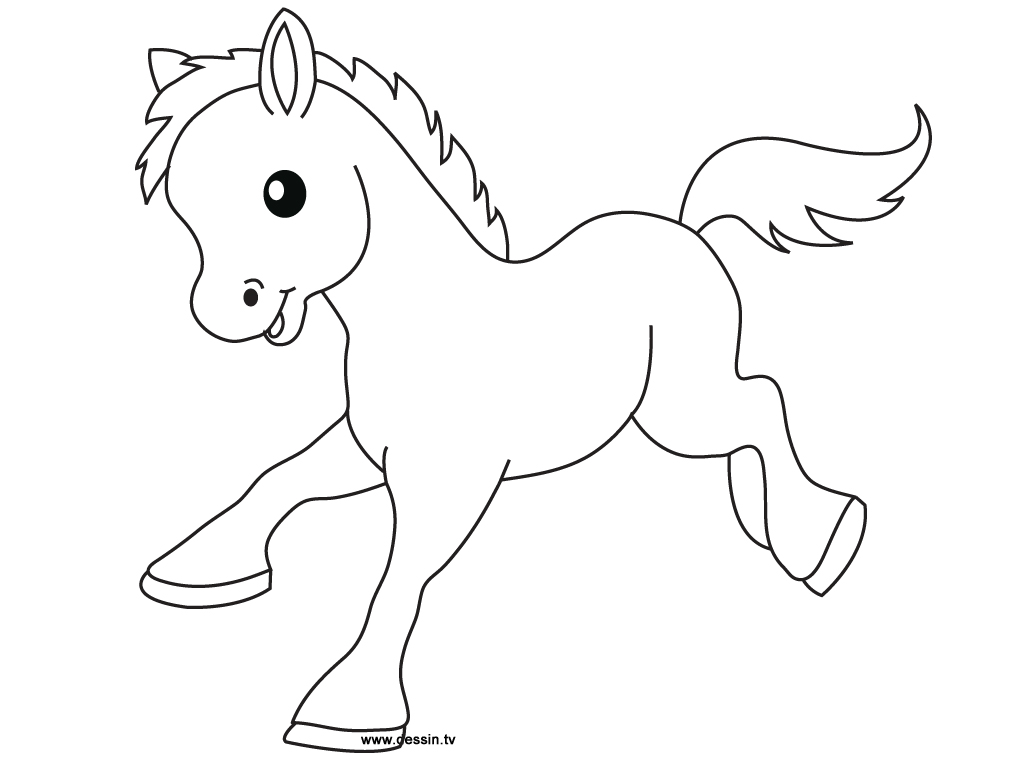 coloriage petit-poney