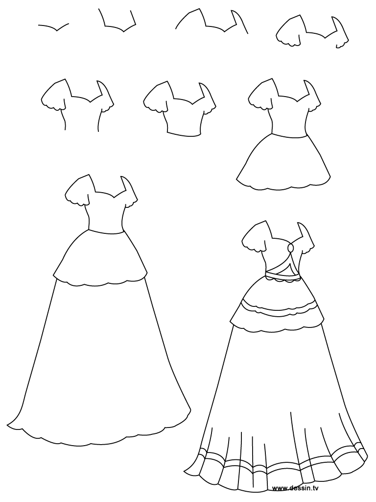 how to draw fashion designs for beginners
