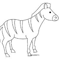 Dessin z bre - Zebre a dessiner ...