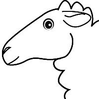 Coloriage mouton