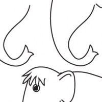Dessin mammouth