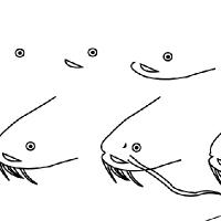Dessin poisson chat