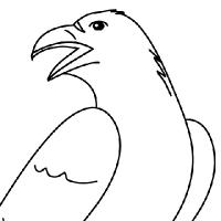 Coloriage corbeau