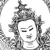 Coloriage bouddha