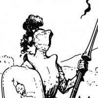 Coloriage chevalier