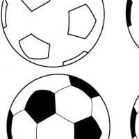Dessin ballon de foot