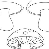 Dessin champignon