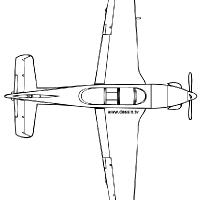Coloriage petit avion