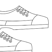 Coloriage chaussure